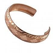 دستبند مس طرح شیما زنانه