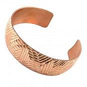 دستبند مس سنتی زنانه