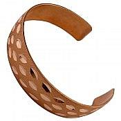 دستبند مس طرح سیما زنانه