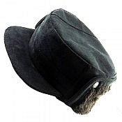 کلاه جیر طبیعی مشکی مردانه