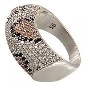 انگشتر نقره زیبا زنانه