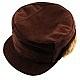 کلاه جیر طبیعی قهوه ای مردانه
