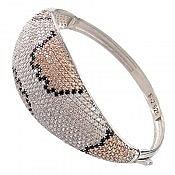 دستبند نقره جذاب و لوکس زنانه