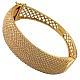 دستبند نقره طرح طلا مجلسی زنانه