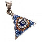 مدال نقره طرح مثلثی