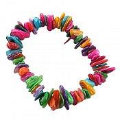 دستبند صدف طرح شادی زنانه