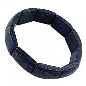 دستبند نقره لاجورد آبی زیبا زنانه