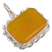 مدال نقره عقیق چهارگوش شرف الشمس