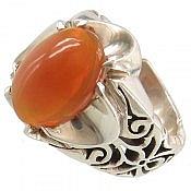 انگشتر نقره اپال سلطنتی مردانه