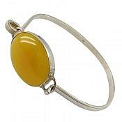 دستبند نقره عقیق شرف الشمس مردانه