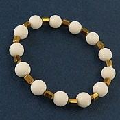 دستبند انیکس و حدید طلایی زنانه