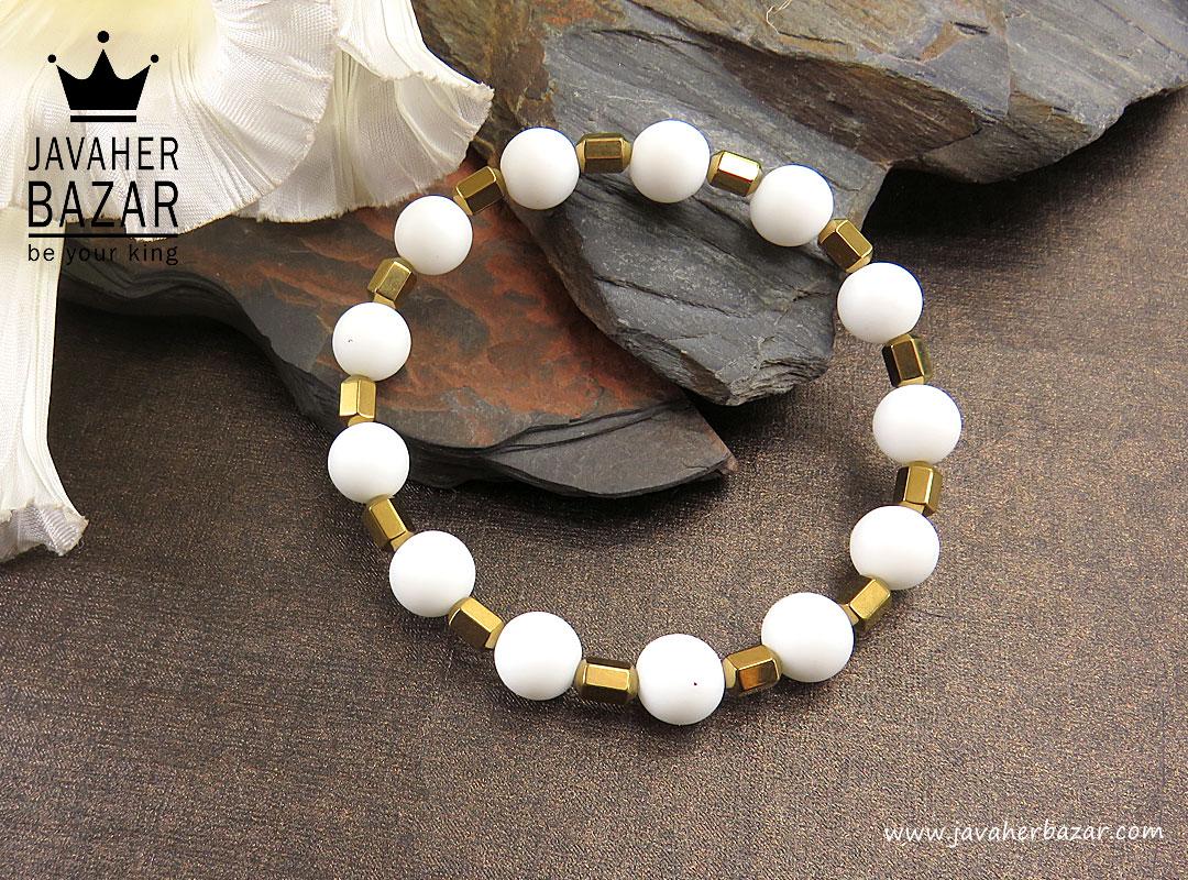 تصویر عکس خرید ، قیمت و خواص دستبند حدید سفید زنانه اصل