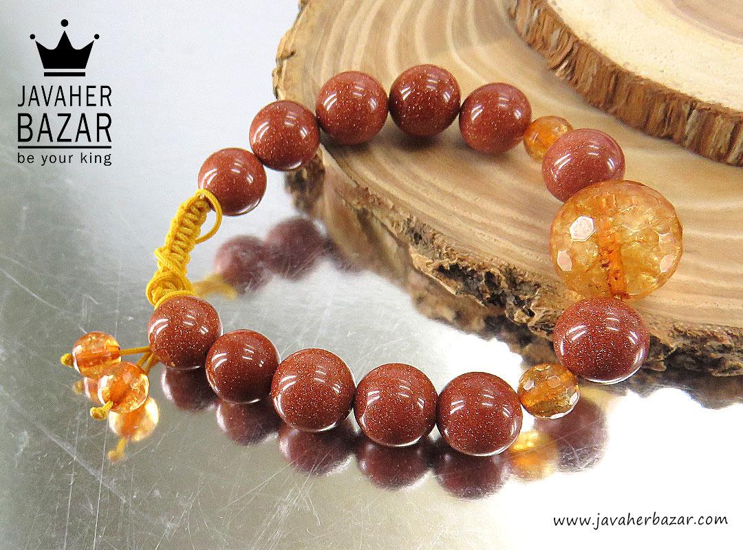 تصویر عکس خرید ، قیمت و خواص دستبند جید قهوهای زنانه اصل