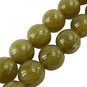تسبیح 33 دانه کهربا پودری سبز