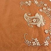 ترمه رومیزی چهار تکه عسلی طرح نشاط