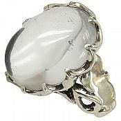 انگشتر نقره در نجف دورچنگ و شفاف مردانه