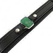 دستبند عقیق و چرم حکاکی یا زهرا مردانه