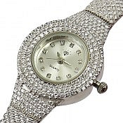 ساعت مچی نقره شیک و فاخر زنانه