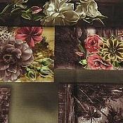 ترمه رومیزی مخمل طرح گل
