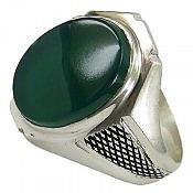 انگشتر نقره عقیق حرز دار مردانه