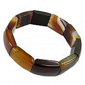 دستبند عقیق خوش نقش زنانه