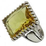 انگشتر نقره سنتاتیک طرح شاهانه مردانه
