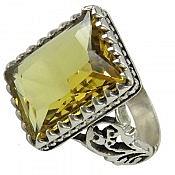 انگشتر نقره سنتاتیک درشت مردانه