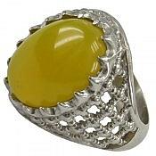انگشتر نقره عقیق شرف الشمس طرح سلطنتی مردانه