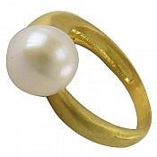 انگشتر نقره مروارید زیبا زنانه