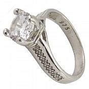 انگشتر نقره ظریف و زیبا زنانه