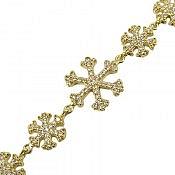 دستبند نقره طرح مهسان زنانه