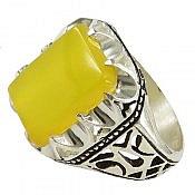 انگشتر نقره عقیق شرف الشمس مردانه