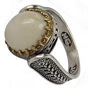 انگشتر نقره در نجف شاهانه مردانه