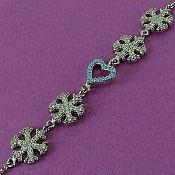 دستبند نقره فاخر زنانه