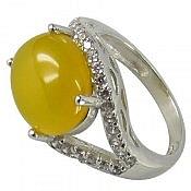 انگشتر نقره عقیق شرف الشمس طرح صفوی زنانه