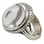 انگشتر نقره در نجف شفاف مردانه