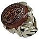 انگشتر نقره عقیق یمن حکاکی یا غریب الغربا مردانه دست ساز