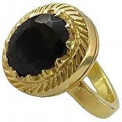 انگشتر نقره یاقوت گارنت شاهانه مردانه