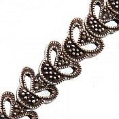 دستبند نقره طرح مانیا زنانه