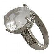 انگشتر نقره در نجف زلال و شفاف زنانه