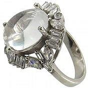 انگشتر نقره در نجف شفاف زنانه