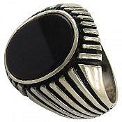 انگشتر نقره اسپرت مردانه