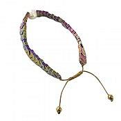 دستبند حدید و مروارید طرح شیدا زنانه