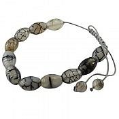 دستبند عقیق طرح شیما زنانه