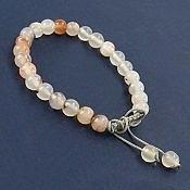 دستبند عقیق شجر زنانه