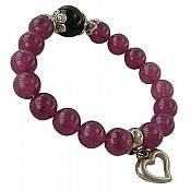 دستبند جید خوش رنگ زنانه