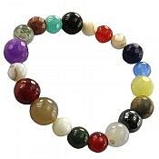 دستبند چندنگین رنگارنگ زنانه