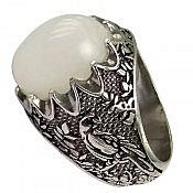 انگشتر نقره در نجف اشرافی مردانه