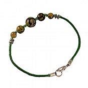 دستبند عقیق دراگون خوش رنگ زنانه