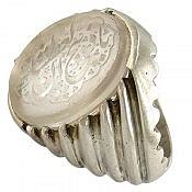 انگشتر نقره در نجف حکاکی یا ذبیح العطشان مردانه